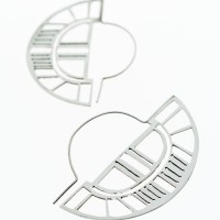 Fine Saw-Pierced Earrings